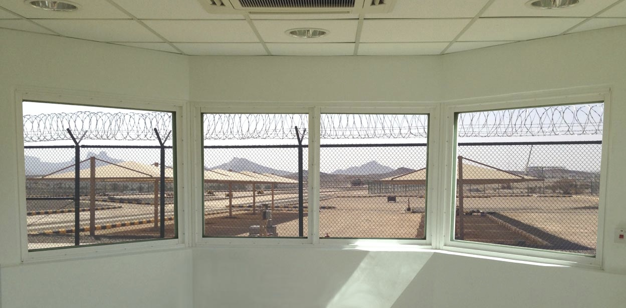 Security Windows for Prison